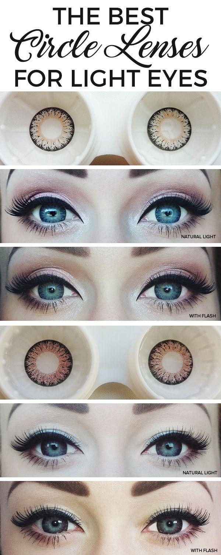 Circle Lens Directory: Circle Lenses On Light Eyes | A Beauty & Lifestyle Blog - yukitty.net
