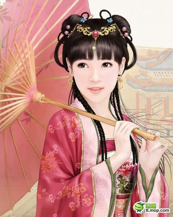 Chinese Hairstyle Alluring 231 Best Asian Beauty Images On Pinterest  Chinese Painting