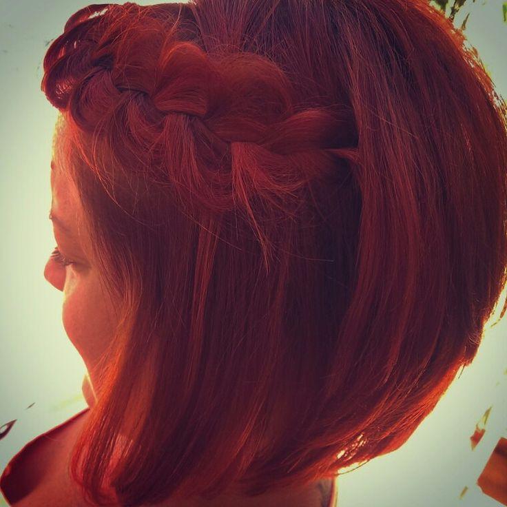 Red'n'braided