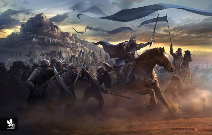 Rise to the Throne by atomhawk.deviantart.com on @DeviantArt