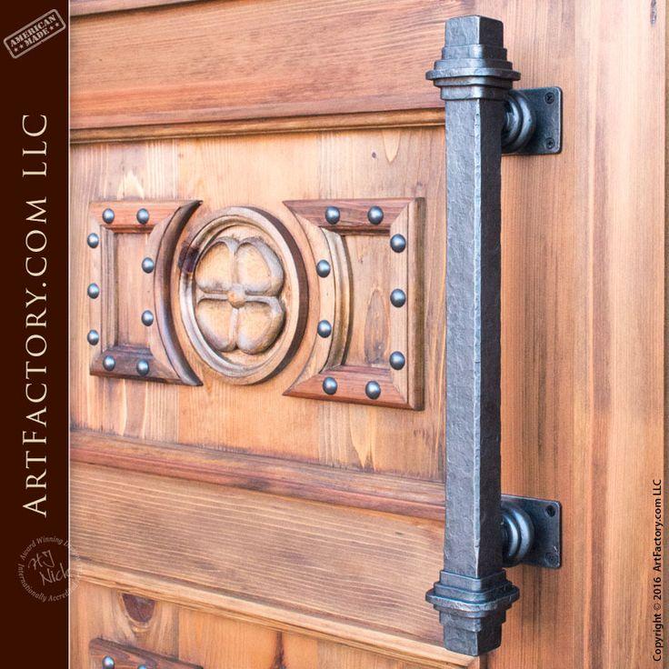 Four Leaf Clover Front Door Hand Carved Fine Art Custom Entrances Custom Wood Doors Custom Exterior Doors Solid Wood Front Door