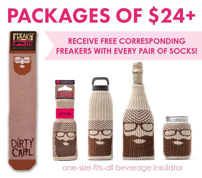Freaker Feet! 127 USA made sock designs! by Zach Crain — Kickstarter