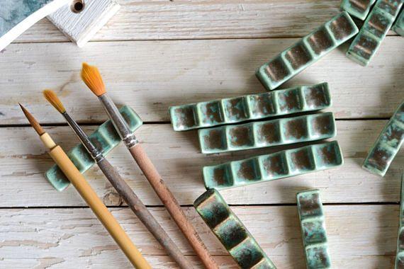 Ceramic Brush Rest  Calligraphy Material