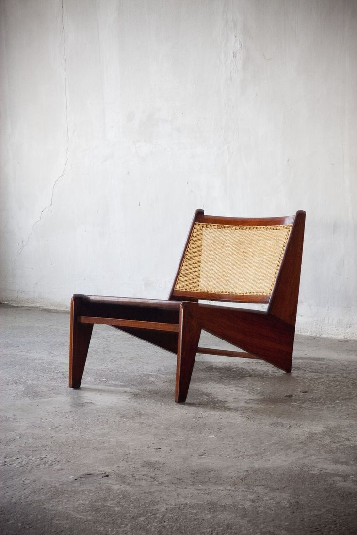 Pierre Jeanneret (Genève 1896 - Genève 1967)    Pair of Kangourou Lounge Chairs… #LoungeChair