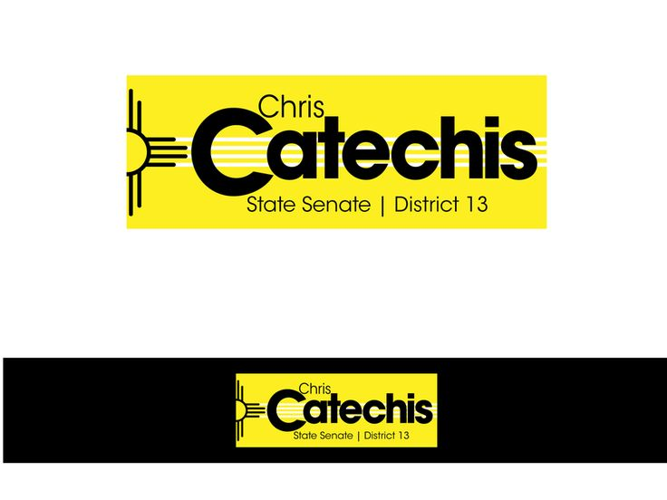 New logo wanted for Catechis for State Senate, District 13 by ray