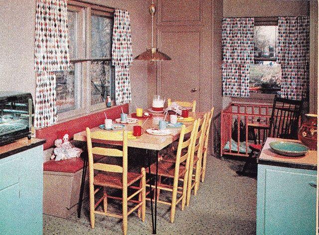 1950 Kitchens 1365 best vintage kitchens images on pinterest | vintage kitchen