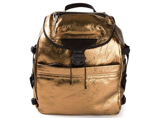 Textured Backpack, Alexander McQueen farfetch.com