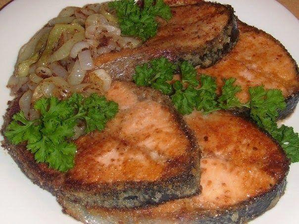 Шустрый повар.: Форель в хрустящей сырной панировке!