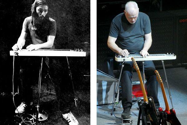 David Gilmour Jedson Blonde Slide Guitar Musician In