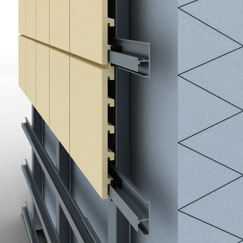 ArGeLite-Horizontal-System for ventilated Facade Ceramic Cladding.