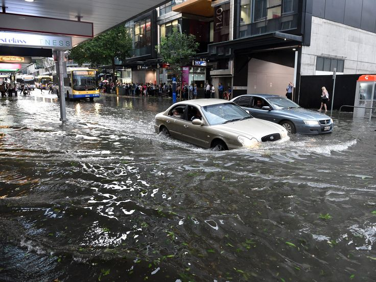 11/28/2014 - Brisbane has endured battering winds, rain and hail-stones the size of golf balls in the worst storm to have hit the Australian city in decades, leaving streets flooded, power lines cut and at least 39 people injured.