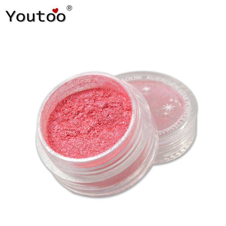 20 Colores de Sombra de Ojos Maquillaje En Polvo Desnudo Pigmento Mineral Shimmer Mate Sombras Maquillaje Resaltadores Ilumina Marcas de Sombra de Ojos