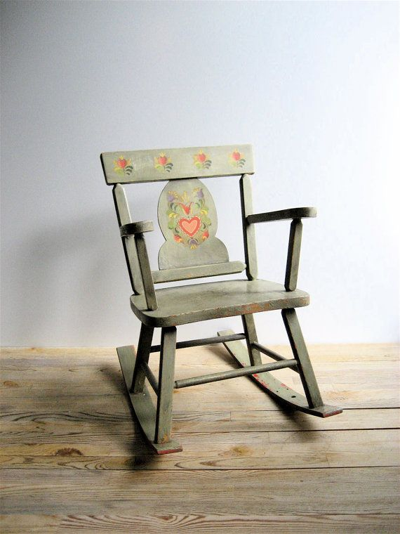 Child's Vintage Rocking Chair