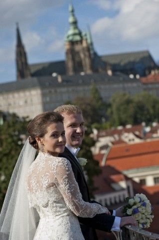 Wedding in Prague - Vrtba garden