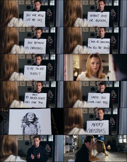 Love Actually...can't wait for it to be winter so it is appropriate for me to watch this movie!