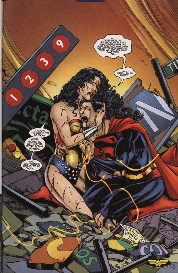 Superman n wonder woman-8789