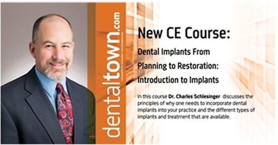 Dentaltown Learning Online is presenting a 12-part Dental Implants from A – Z by Dr. Charles D. Schlesinger DDS, FICOI. The AGD # is 690. Dr. Charles Schlesinger is a foremost leading dental implant educator and clinician who has been lecturing internationally for the past 10 years. He graduated with honors from The Ohio State College of Dentistry in 1996. After graduation, he completed a General Practice residency at the VAMC San Diego and then went on to become the Chief Resident at the…