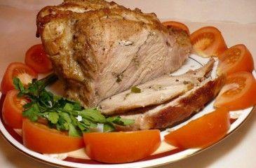 Мясо, запеченное в духовке - рецепт с фото. Как приготовить сочное запеченное мясо одним куском