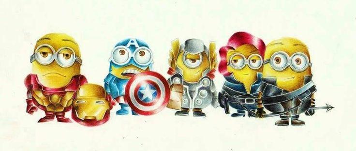 Avengers Minions | Minions ♥♥ | Pinterest | Avengers and ...