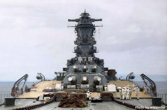 1938_Japan_BattleShip_Musashi 戦艦 武蔵
