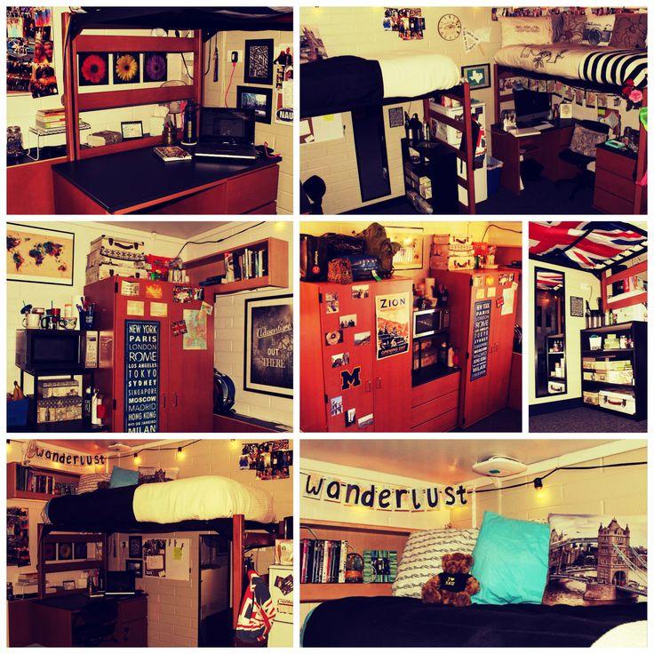 Dorm Decor, Travel Decor, Wanderlust, Union Jack