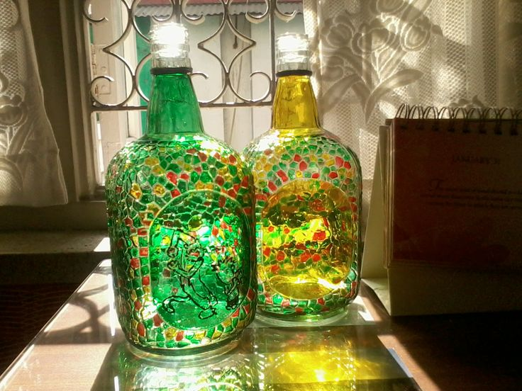Old monk bottles pinterest bottle painting glass Painting old glass bottles