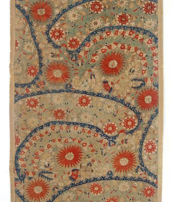 Greece, 17th century, silk embroidery on linen