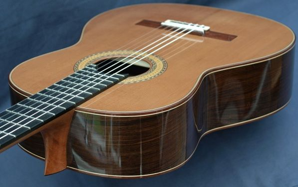 Stephen Hill, luthier, classical guitar