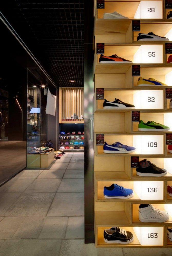 shoe display