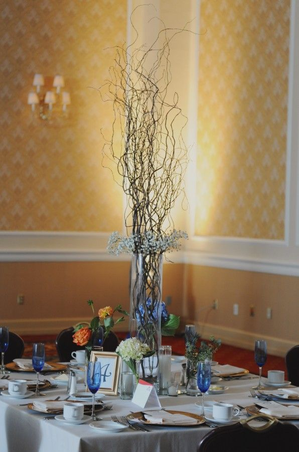 Tall Twig Centerpiece CenterpiecesCenterpieces For WeddingsWedding