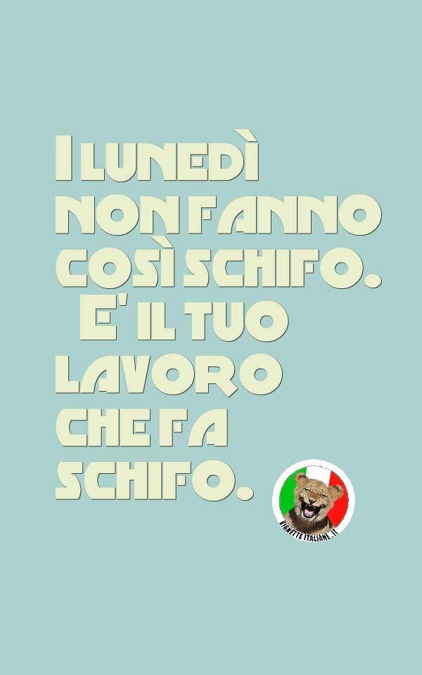 Non sono i lunedì  (www.VignetteItaliane.it)
