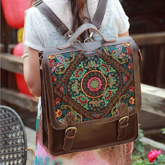 Hey, I found this really awesome Etsy listing at https://www.etsy.com/listing/182631529/leather-backpack-women-laptop-backpack