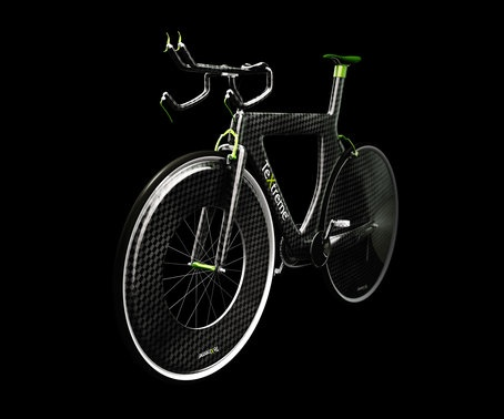 Oxeon develops, produces and markets TeXtreme® Spread Tow carbon reinforcements for high-performance composite products with need for great weight savings and improved mechanical properties.     Visualization of bike featuring TeXtreme®.