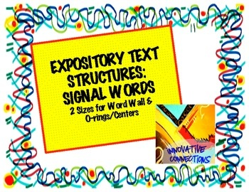 expository essay signal words Taking into account that this word has the meaning of providing an explanation, an expository essay is an assignment in which you are required to explain and conduct research on a particular subject moreover, expository essays also have the objective of demonstrating a thesis.