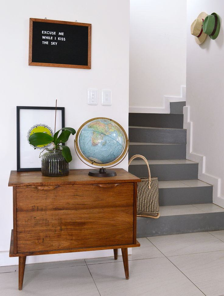 Welcome home – our entrance stairs