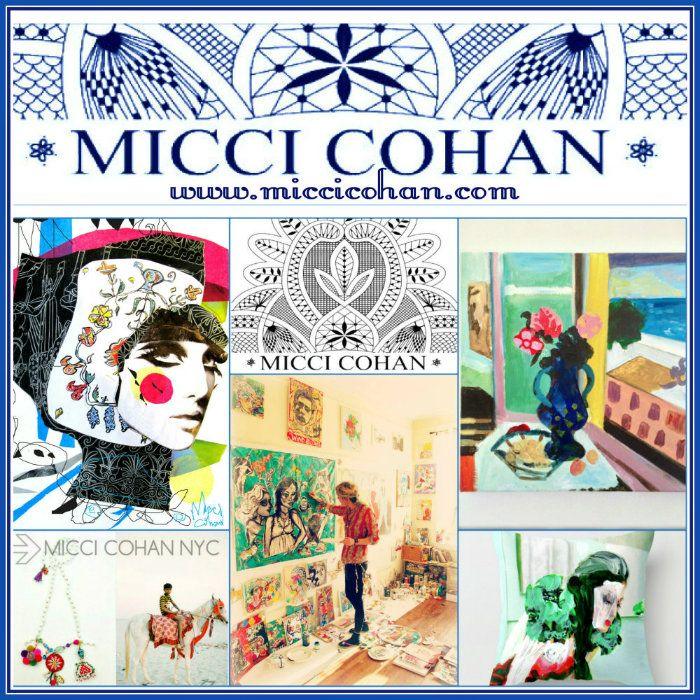 Micci Cohan # NY # website banner