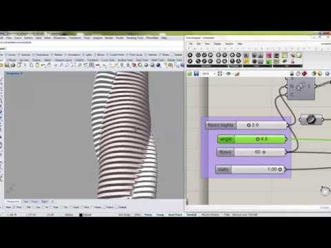 06 TUTORIAL FOR EXAM twin towers parametric - YouTube