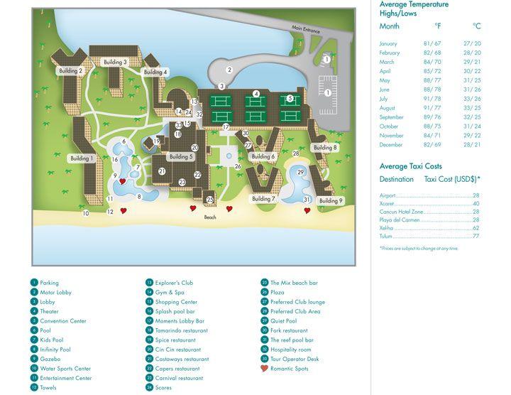 8 best resort maps images on pinterest dominican republic punta