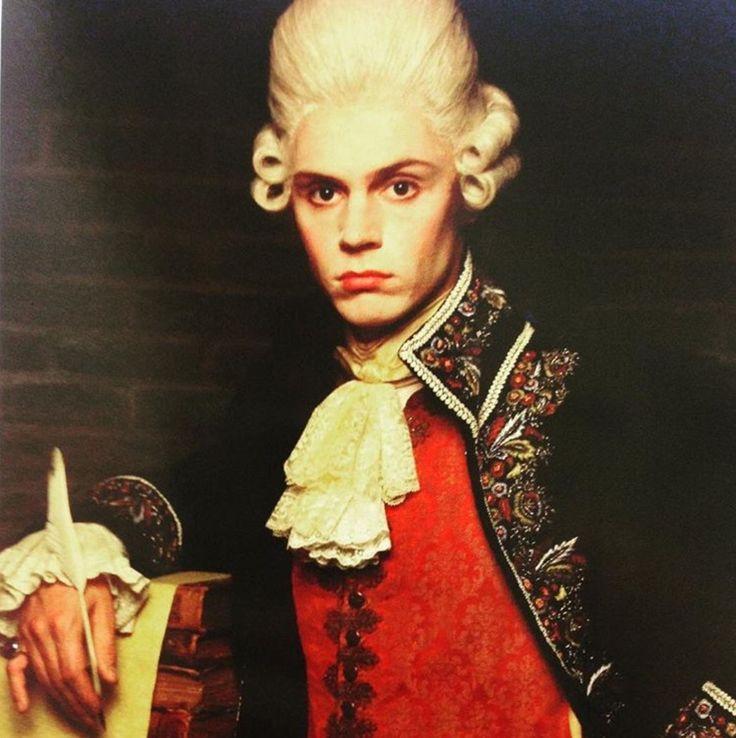 Renaissance Man: Edward Philippe Mott aka Evan Peters. AHS My Roanoke Nightmare.