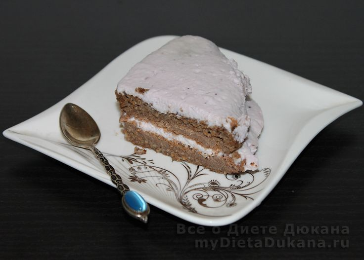 Торт из отрубей, диета Дюкана
