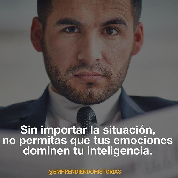 Domina tu mente para dominar tus sentimientos.