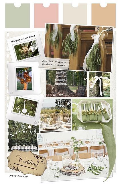 Decoration for an Aussie bush wedding by idoityourself, via Flickr