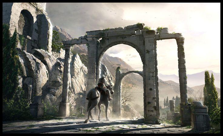 The North Kingdom - Assassin's Creed 1, Raphael Lacoste on ArtStation at http://www.artstation.com/artwork/the-north-kingdom-assassin-s-creed-1