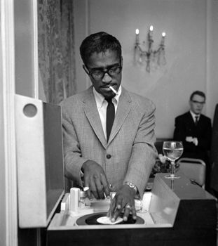 Sammy Davis, Jr. As cool as they come. Autobiography - Yes, I Can.