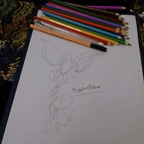 St. Petersburg . My work mehendi art, tatto sketsh, tattoo.  T: +7 (929)100-50-04 WatsApp, Viber. #mehendi #mendi #henna #hennaart #hennadesign #sketch #sketchbook