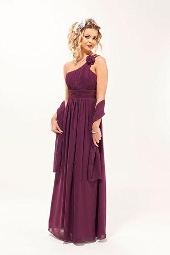 ROSE LONG PLUM BRIDESMAID EVENING PROM DRESS FROM ERA BOUTIQUE; £84.99; http://www.bellachoice.com/bridesmaids-files/cheap-uk-cadburys-purple-lilac-plum-bridesmaids-dresses-under-100-with-free-uk-delivery-from-bella-choice-com/rose-long-plum-bridesmaid-prom-evening-dress-from-era-boutique.html