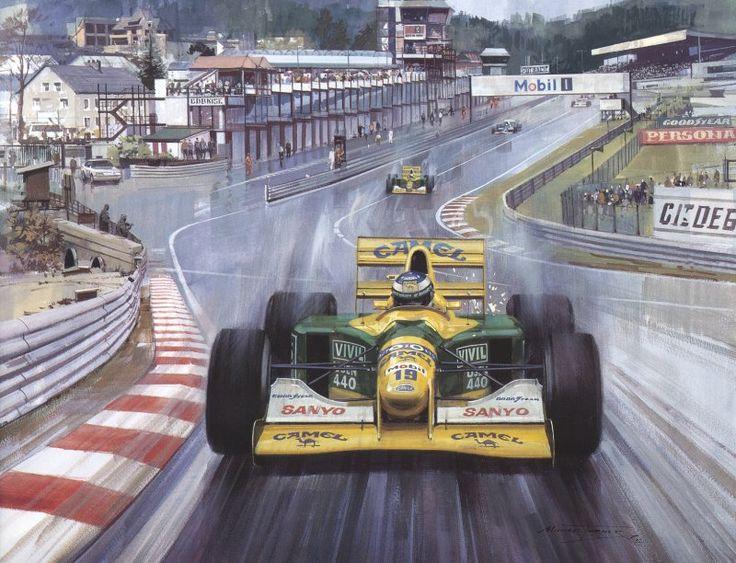 Benetton B192