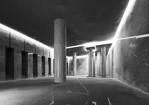Danteum 2 (digital reconstruction) - Terragni