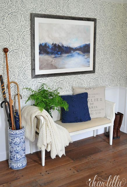 Jamie Foyers Traditional : Best ideas about foyer wallpaper on pinterest