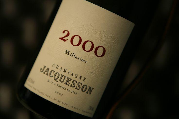 Champagne Jacquesson millésime 2000. Domaine Jacquesson #champagne